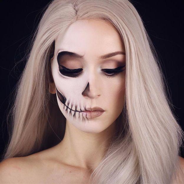 Spooky Skeleton Makeup Ideas Should Wear Halloween