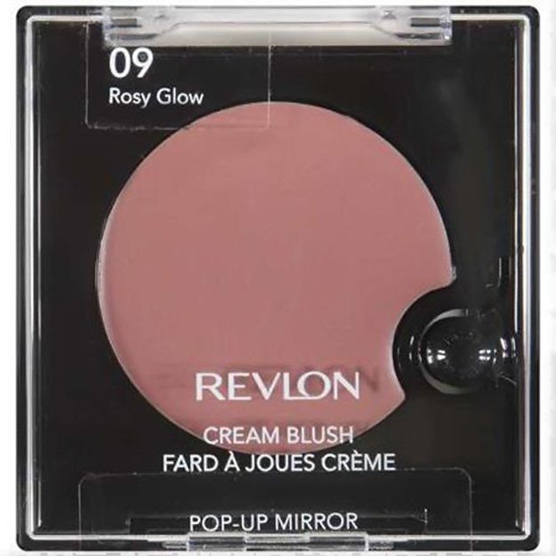 Revlon - Cream Blush in Rosy Glow | Best Cream Blush by Skin Tone, check it out at http://makeuptutorials.com/best-cream-blush/