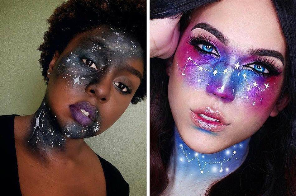 Galaxy Makeup Ideas