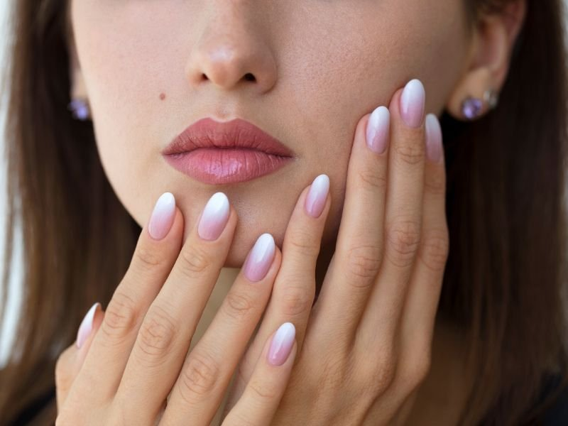 Classic White Nails | Stunning Ombre French Nails You Need In Your Life