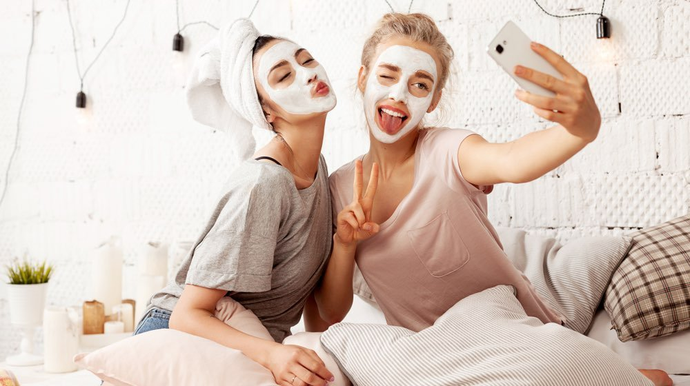 portrait-cute-young-women-sending-kisses | Underrated Fall Skincare Hacks To Try This Season | Featured