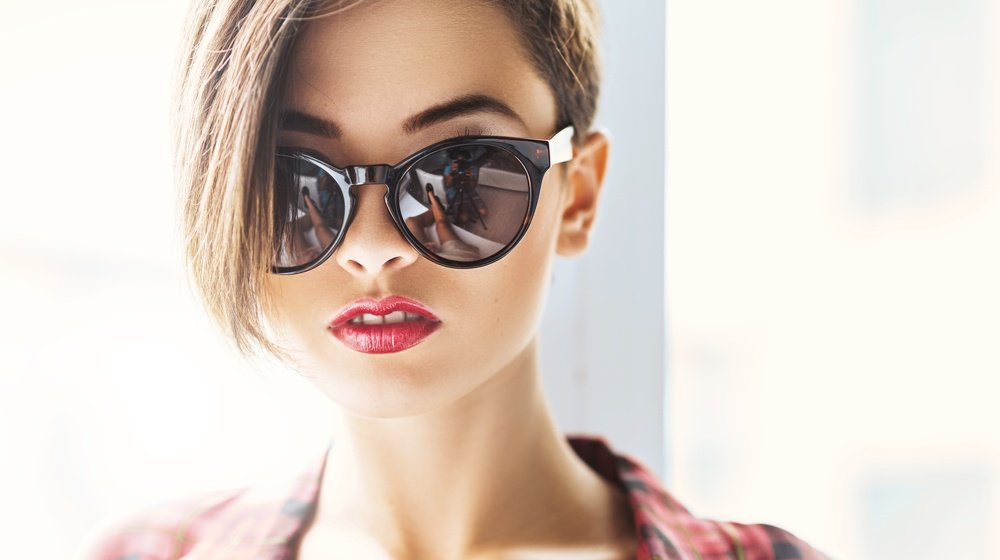 face gorgeous woman sunglasses | Rocking Undercut Designs For An Edgy Yet Classy Look | Featured